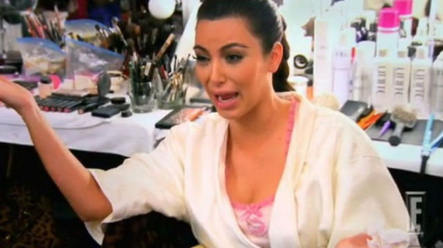 Kim Kardashian Crying Will Definitely Cheer You Up