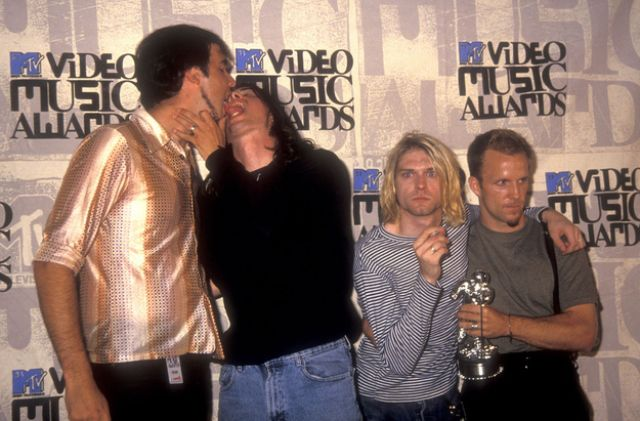 Rocking Pictures from the 1993 VMAs