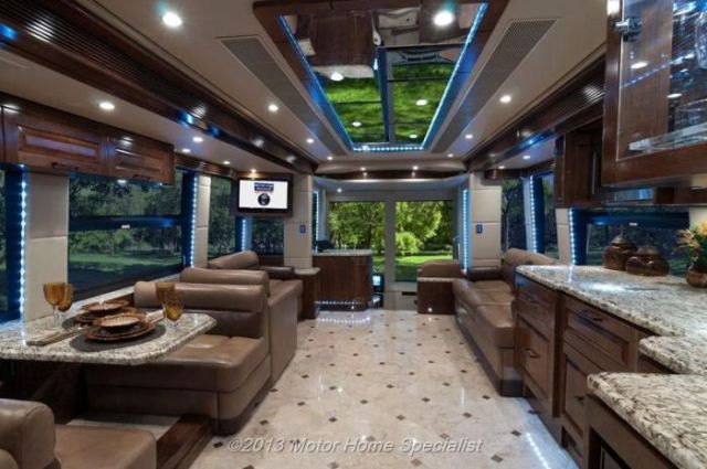 A Motorhome That Is Pure Luxury on Wheels! (59 pics