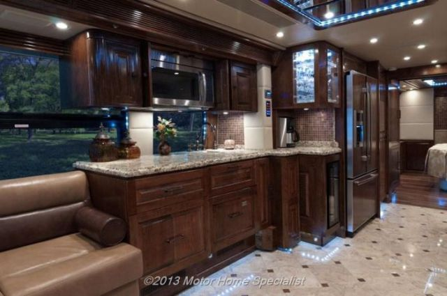 A Motorhome That Is Pure Luxury on Wheels!