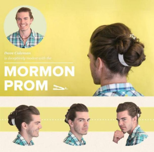 Guys Try Out Girly Hairstyles