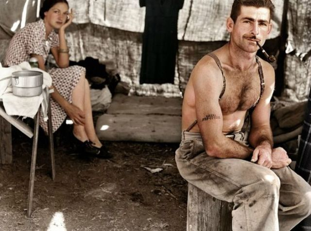 Old Historical Photographs Reworked in Color