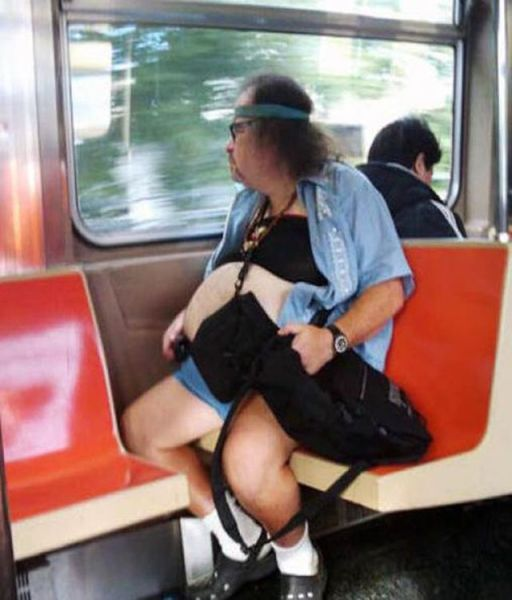 The Strangest People Ever Seen on Subway Rides