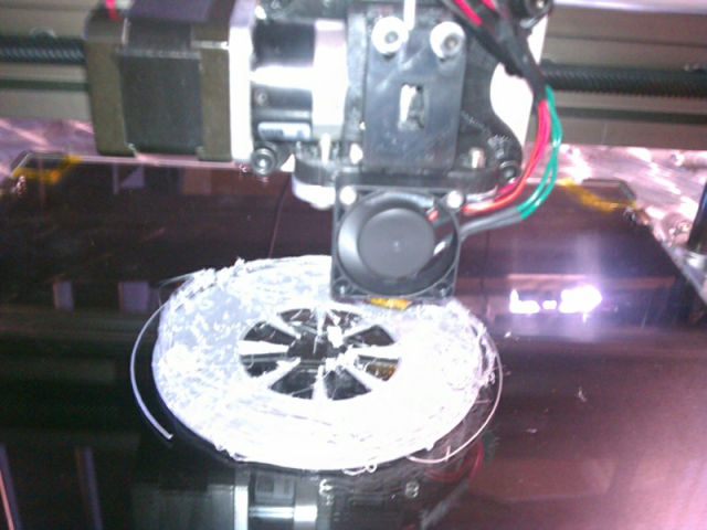 This Is What a 3D Printing Fail Looks Like