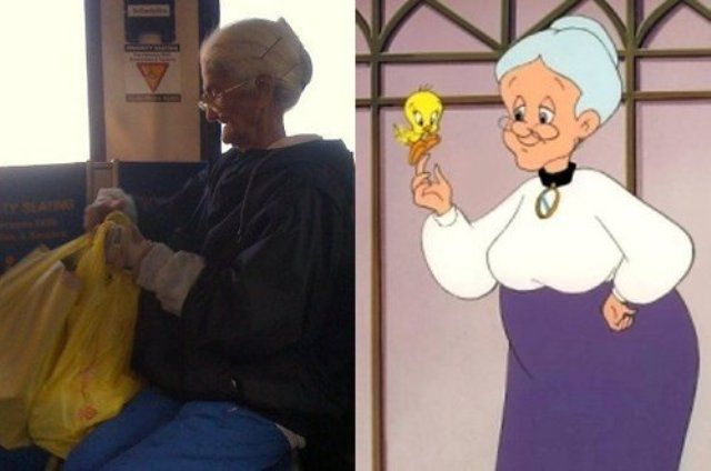 TV and Movie Characters Spotted in Real Life