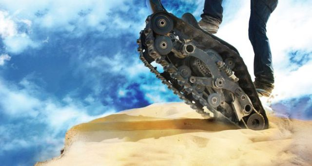 A Dual Track Machine That Outdoor Adventurers Will Love