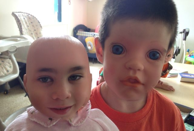 "Freaky ""Faceswaps"" of Dolls and Kids"