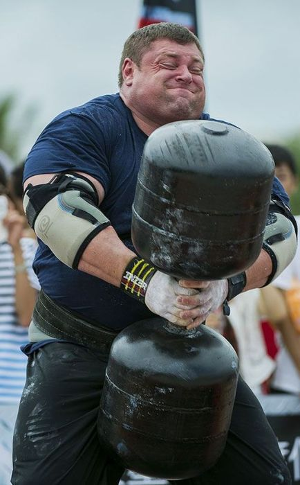 The World's Strongest Man Can Not be Beaten