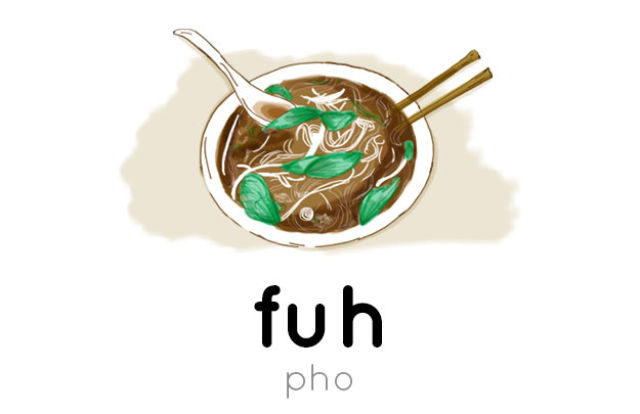The Right Way of Saying Difficult Food Words