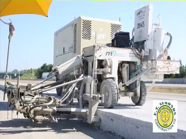 How They Build Concrete Roads