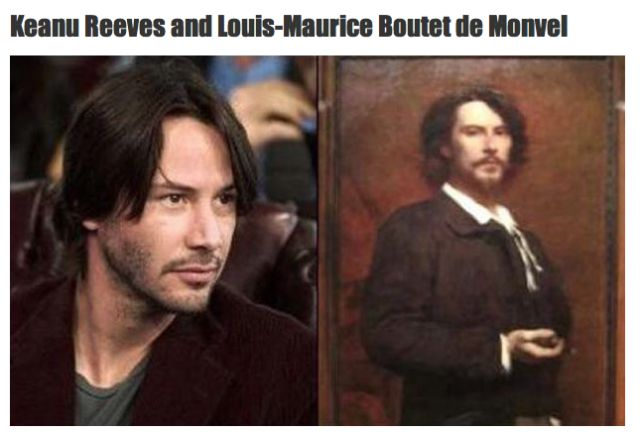 High-Profile Stars Who Have Doppelgangers in History