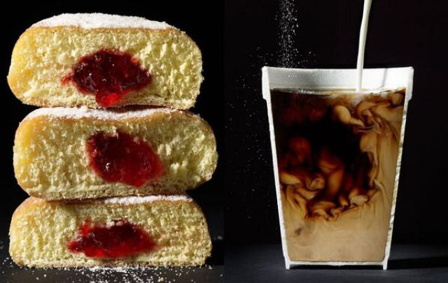 Perspective Photos of Items Cut in Half