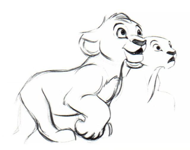 "The Original Concept Art of ""The Lion King"""