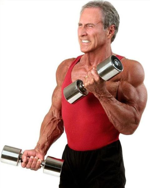 Aging Bodybuilder Still Going Strong after 30 Years!