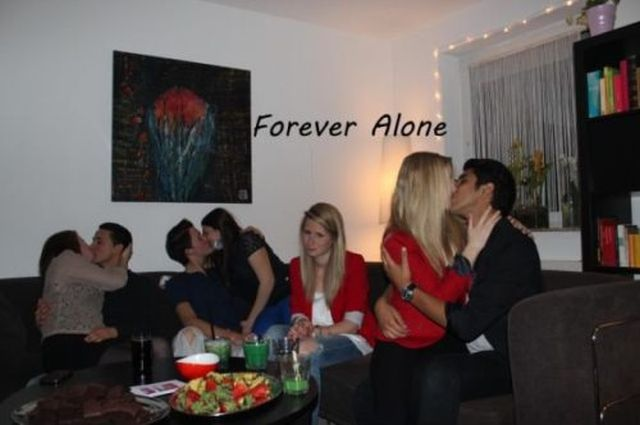 It's a Party of One When You Are Forever Alone