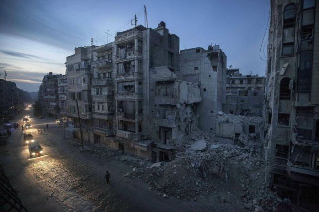 The Devastation and Destruction in Syria