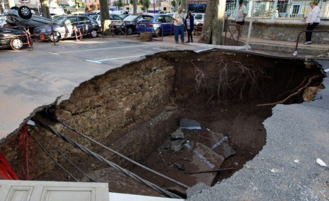 An Impressive Assortment of Sinkhole Pictures