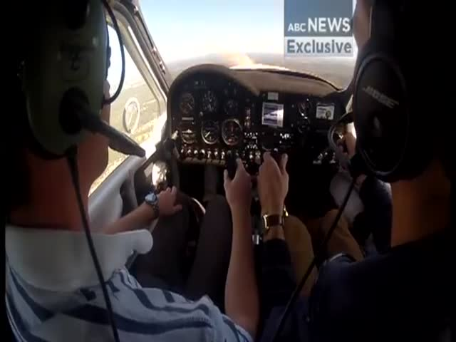 Two Young Pilots Perform 'Textbook' Emergency Landing