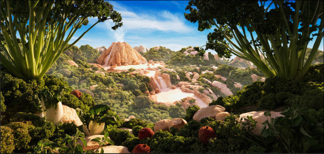 Awesome Photos of Landscapes Made Entirely Out of Food