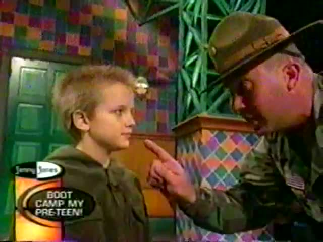 Epic TV Moment: Young Boy vs Drill Instructor
