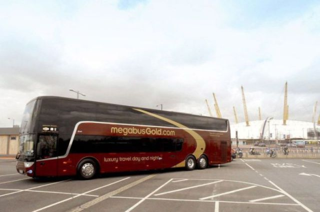 A Bus You Can Sit On or Sleep On