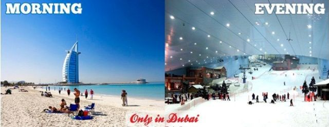 Life Is Different in Dubai…