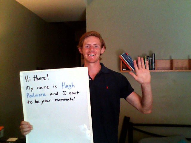 One Guy's Creative Roommate Search Campaign