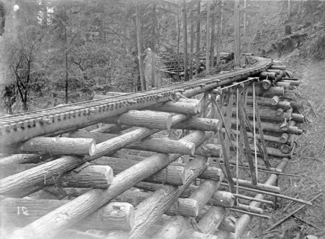 A Railway Bridge from the Past