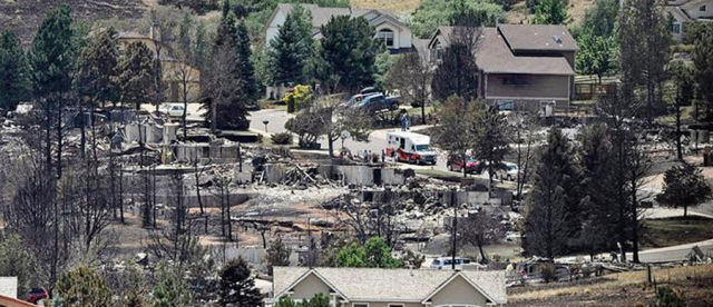 A Fire Ravaged Town One Year Later
