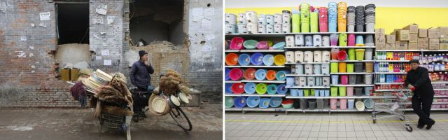 Poignant Photos Highlight China's Massive Wealth Gap