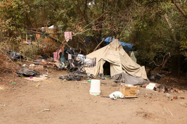 Silicon Valley's Homeless People Find Shelter in the Jungle