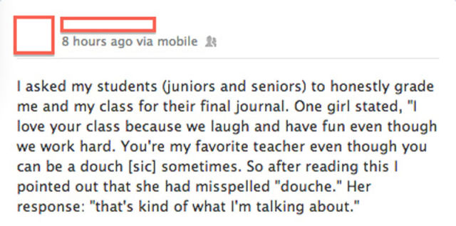 These Teachers All Get Top Marks for Awesomeness