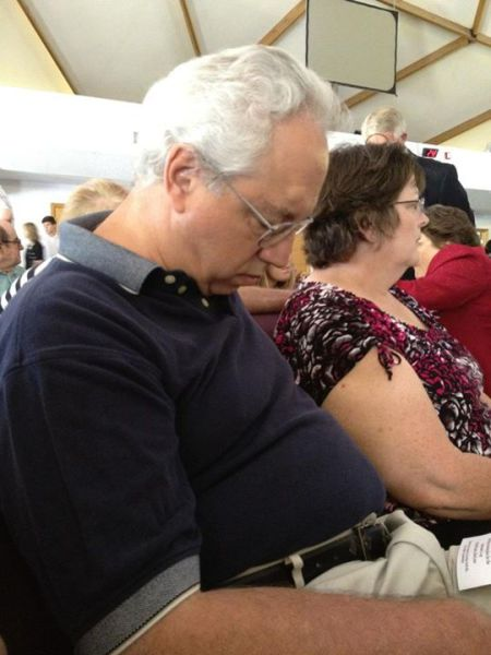 This Dad Just Can't Stay Awake