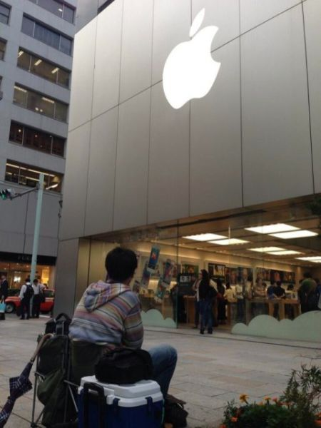 The Most Enthusiastic iPhone Buyer in the World