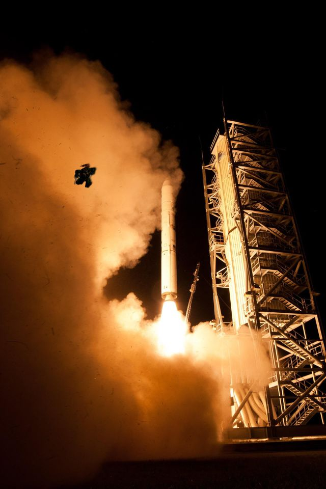 Crazy Image of a Frog That Photobombed a NASA Rocket Launch