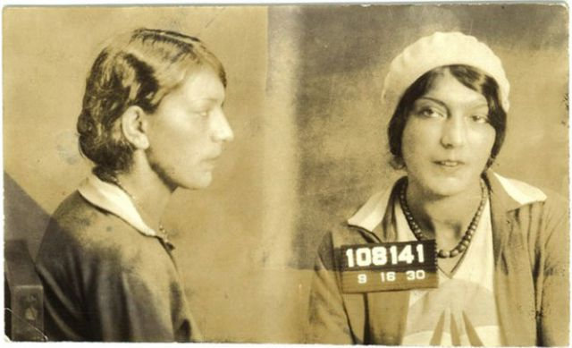 Female Inmates from the Olden Days