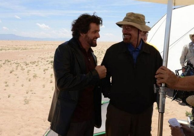 "Cool Backstage Photos from the Set of ""Breaking Bad"""
