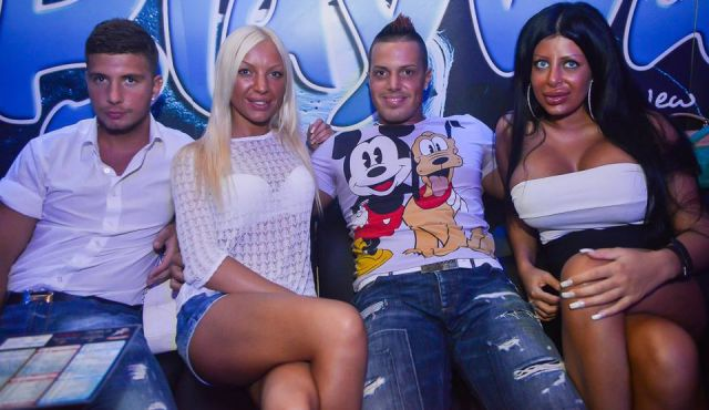 Crazy People Seen inside Night Clubs