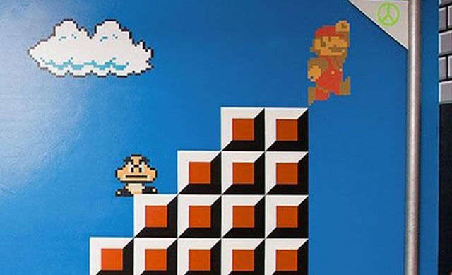 Totally Awesome Mario-Themed Bedroom for Daughter