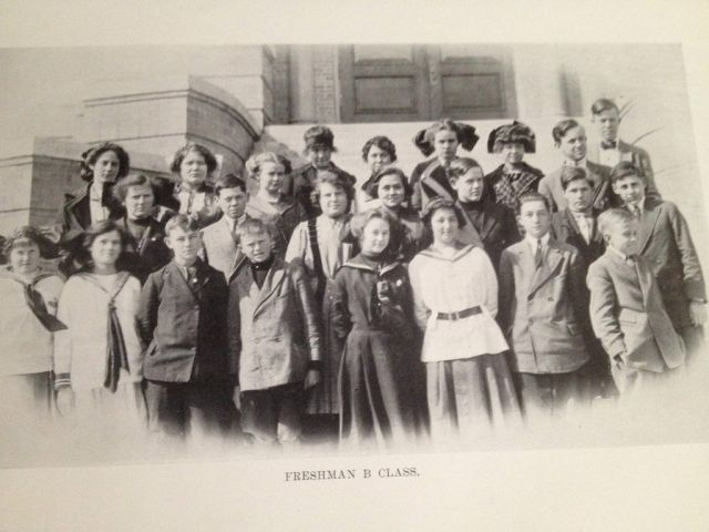 A Revealing Snapshot of History in Yearbook Photos from 1913