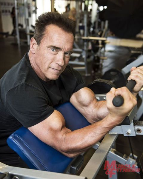 Recharged and Ready to Go: Arnold Schwarzenegger Is Back