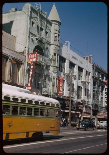 Photos of Los Angeles Downtown in 1952 Compared to Recent Times
