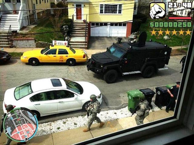 """Because Sometimes """"Grand Theft Auto"""" Happens in Real Life"""