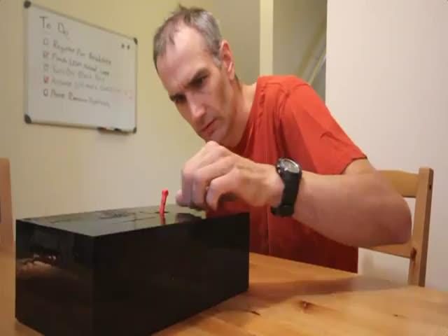 The Ultimate Useless Box
