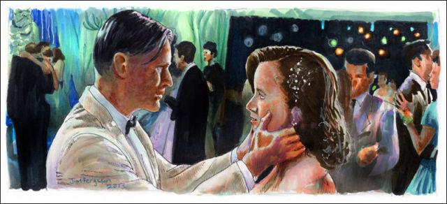 Cool Movie Scenes Captured in Painted Art