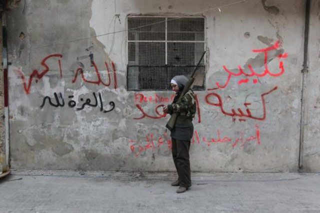 Women Join the Rebellion as Soldiers in Syria