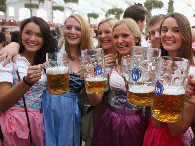 All the Beer, Girls and Debauchery of Oktoberfest 2013