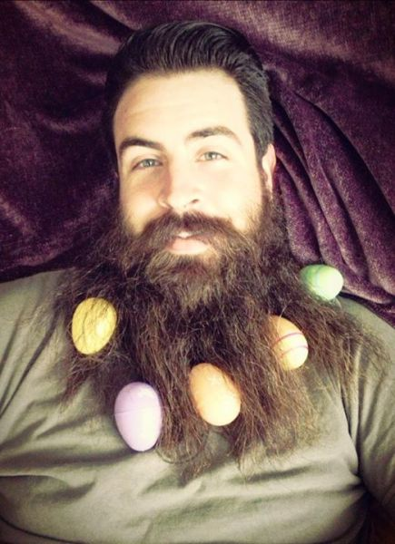 This Man's Beard Can Do Crazy Things