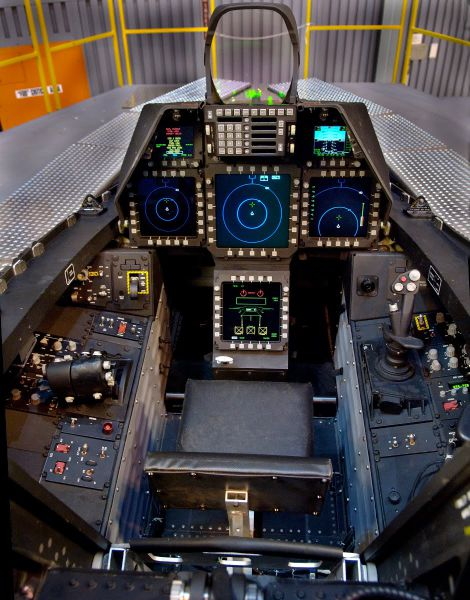 Inside the Cockpits of Various Flying Machines
