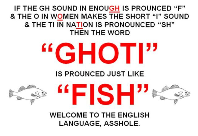 The Curious Case of the English Language